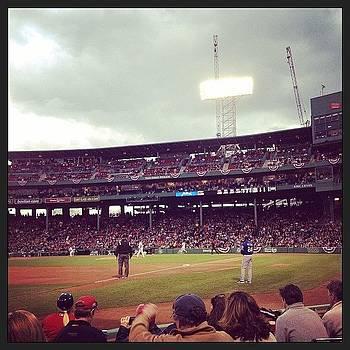 6th Row Off The Field. Awwwyeahhhh by Caitlin Kunzle