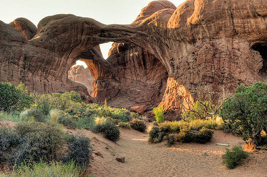 Arches National Park in Utah. by Rob Huntley