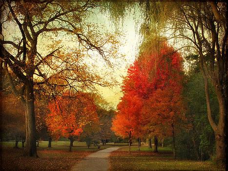 Autumn Promenade by Jessica Jenney
