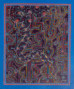 Ayahuasca Vision by Howard Charing