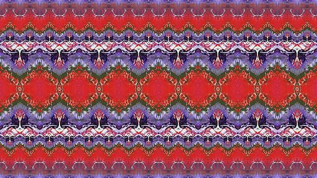 Folk Pattern by Julia Fine Art And Photography
