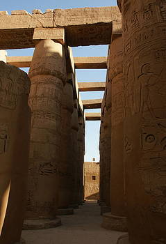 Karnak Temple by Olaf Christian