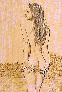 Nude Girl by K Eric
