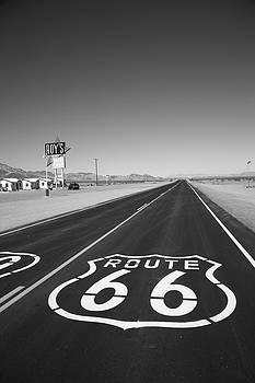 Frank Romeo - Route 66 Shield