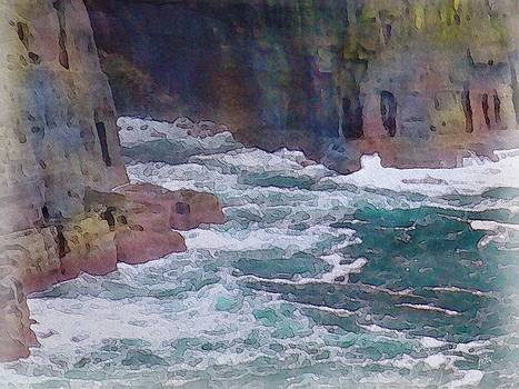Rugged Coast by Philip White