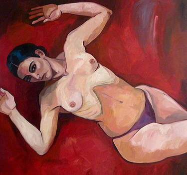 Selfportrait by Carmen Stanescu Kutzelnig