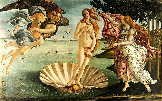 The Birth Of Venus by Masterpieces Of Art Gallery