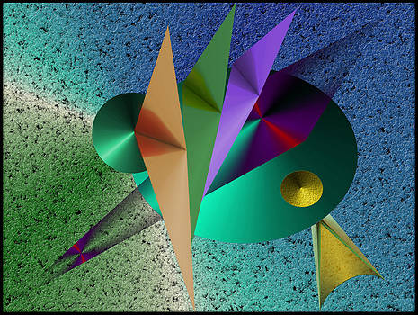 Abstract Bird of Paradise by Vincent Autenrieb