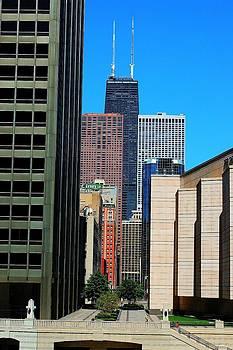 Chicago John Hancock Building by Patrick  Warneka