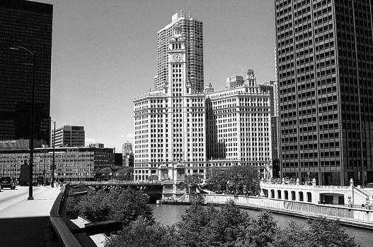Chicago Wrigley Building by Patrick  Warneka