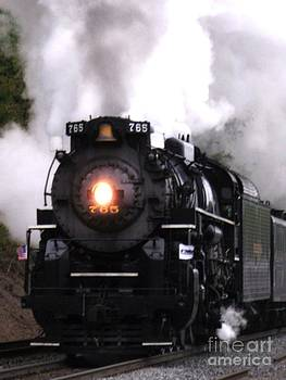 765 Steam Engine color by Chad Thompson