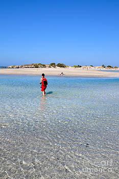 George Atsametakis - Elafonisi beach