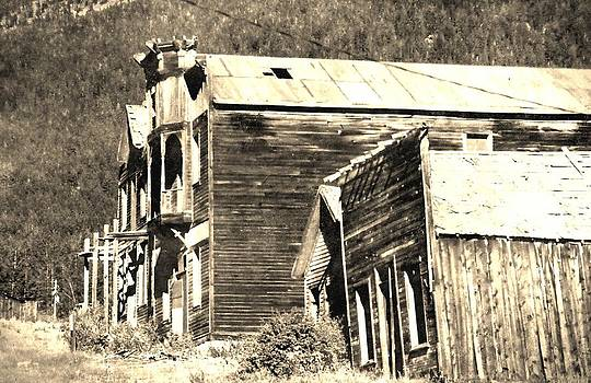 Elkhorn ghost town Montana by Kevin Heaney