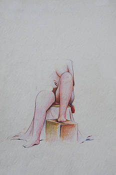 Figure Study by Rachel Christine Nowicki