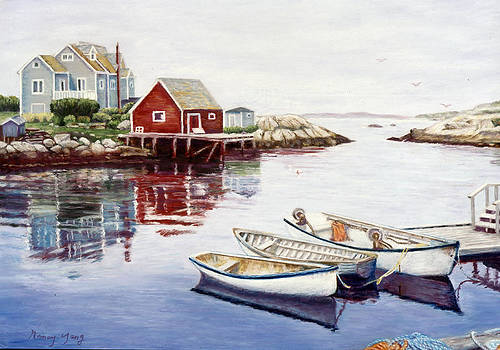 Peggy's Cove by Nancy Yang