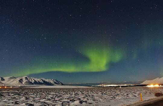 Northern Lights by Christopher Hoffman