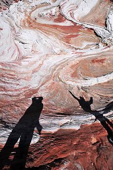 White Pocket Paria Plateau Northern Arizona 2010 by John Hanou