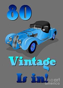JH Designs - 80th Vintage Birthday