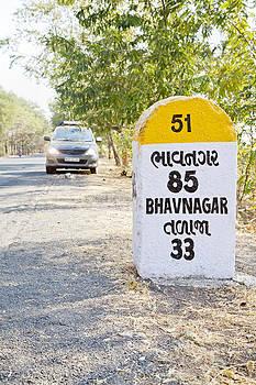 Kantilal Patel - 85 kilometers to Bhavnagar milestone