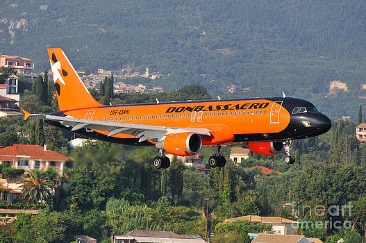 George Atsametakis - Approaching Corfu airport