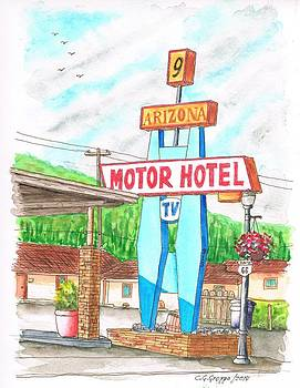 9 Arizona Motor Hotel in Route  66, Williams, Arizona by Carlos G Groppa