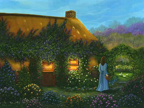 Irish Cottage by Bonnie Cook