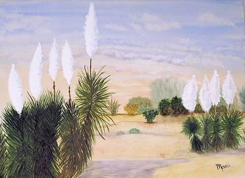 9 Yuccas 2 by Maris Sherwood