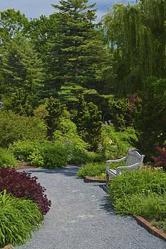 Garden Walkway by Patrick  Warneka