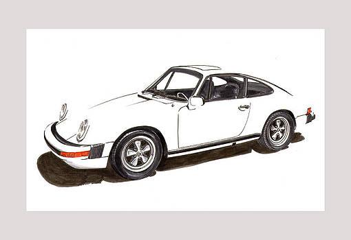 Jack Pumphrey - 911 White on White 1978 Porsche