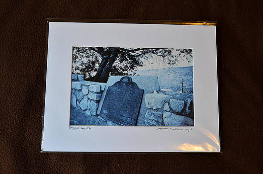 9x12 Matted - Emigrant Gap CA by Becky Anders