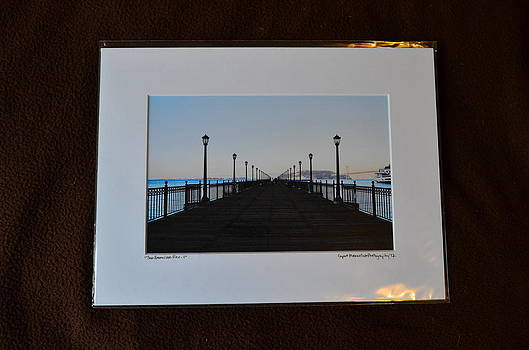 9x12 Matted - San Fanciso Pier-1 by Becky Anders