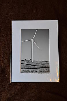 9x12 Matted - Turbine by Becky Anders