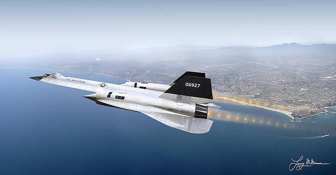 A-12 Blackbird by Larry McManus