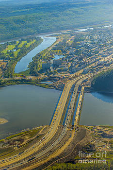 Alanna DPhoto - Fort McMurray from the Sky
