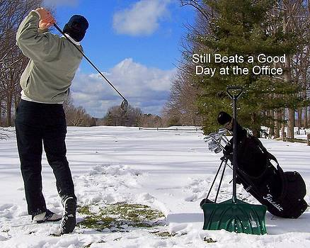 Frozen in Time Fine Art Photography - A Bad Day on the Golf Course