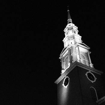 A Beacon.  #blackandwhite #church by J Amadei