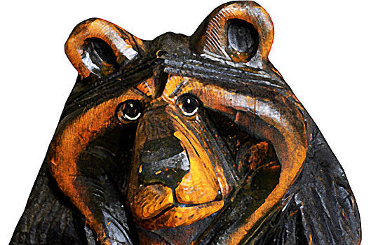 A Bear Expression by Susan Leggett