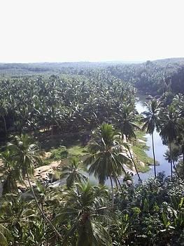 A beautiful view of river  by Siva Guru