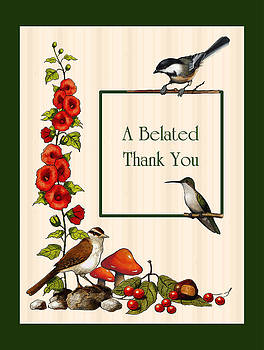 Joyce Geleynse - A Belated Thank You