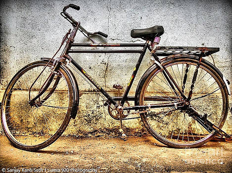 A bicycle  by Sanjay kanti Seth