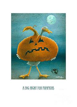 Will Bullas - A big night for pumpkins...