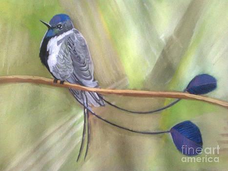 A bird - a picture by Zornitsa Tsvetkova