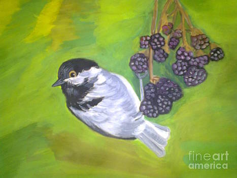 A bird by Zornitsa Tsvetkova