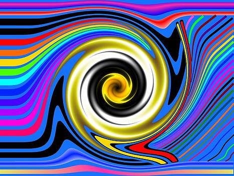 A Black Hole in Color by George Landers
