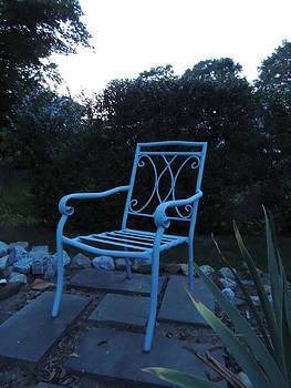 Anastasia Konn - A Blue Chair