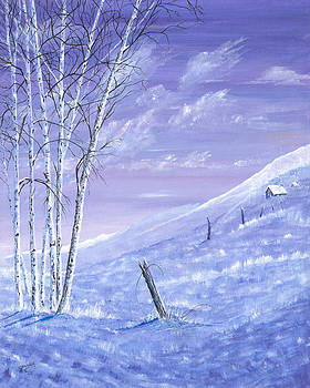 A Blue Winter by Carl Genovese