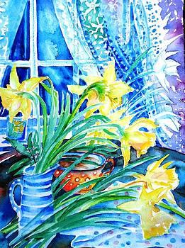 Trudi Doyle - A Bouquet of April Daffodils
