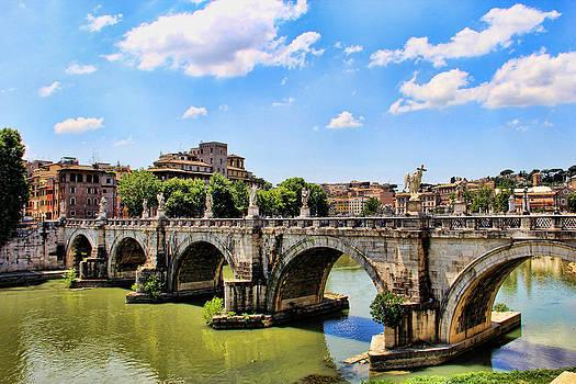 A Bridge in Rome by Oscar Alvarez Jr