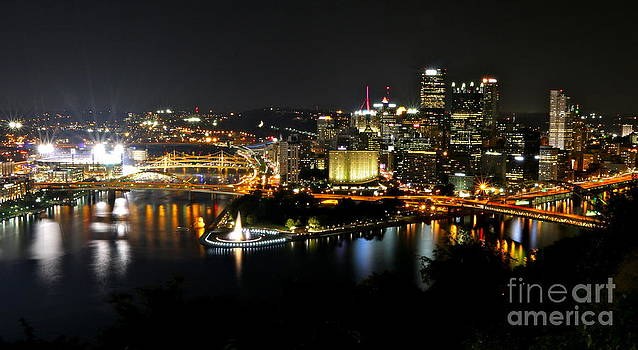 A Buctober Night In Pittsburgh by Jay Nodianos