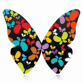 A Butterfly Of Butterflies by Anne Marie Baugh